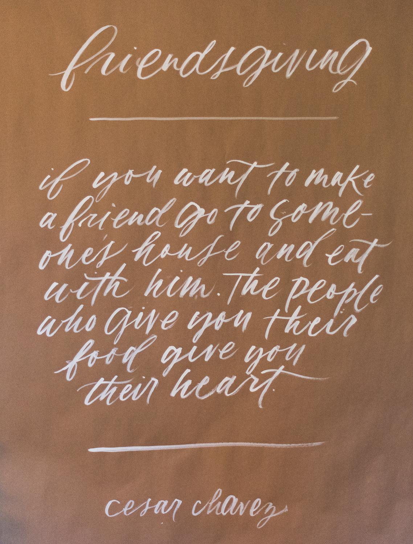 FRIENDSGIVING – Aaron Lee Photography